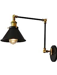billige -JLYLITE Ministil Rustikt / hytte Til Soveværelse Læseværelse / Kontor Drengeværelse Garage Metal Væglys 110-120V 220-240V 40W