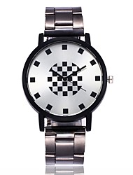 cheap -Men's / Women's Wrist Watch Casual Watch Alloy Band Fashion Silver