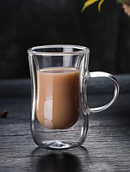 Недорогие -Drinkware Высокое боровое стекло Стекло Компактность Подруга Gift Boyfriend Подарок Теплоизолированные Милые 1pcs