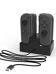 Недорогие -iPEGA Switch Проводное Зарядное устройство Назначение Nintendo Переключатель ,  Портативные Зарядное устройство ABS 1 pcs Ед. изм