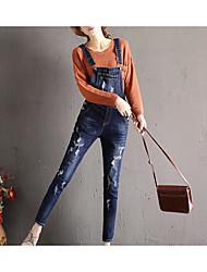 economico -Per donna Essenziale Tuta da lavoro Pantaloni - Tinta unita