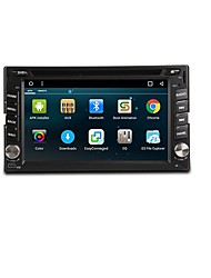 cheap -6.2inch 2 DIN 800 x 480 Android 7.1 Car DVD Player  for universal Built-in Bluetooth RDS Steering Wheel Control WiFi Touch Screen 617
