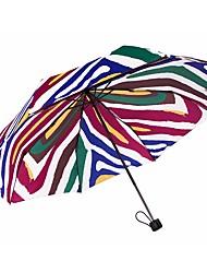 Недорогие -boy® Others Жен. Новый дизайн / Солнечный и дождливой / Ветроустойчивый Складные зонты