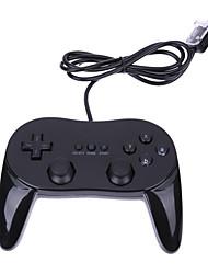 abordables -Wii Câblé Manette de jeu vidéo Pour Wii U / Wii ,  Manette de jeu vidéo ABS 1 pcs unité