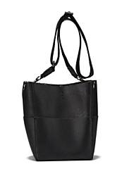 お買い得  -女性用 バッグ PU ショルダーバッグ タッセル のために ショッピング ブラック / ピンク / Brown