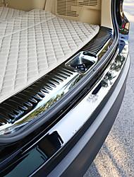 cheap -0.9m Car Threshold Bar for Car Trunk Internal Common Stainless steel For Toyota 2018 / 2015 Highlander