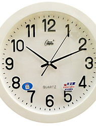 cheap -Modern / Contemporary Plastic & Metal Round Indoor,AAA Batteries Powered Wall Clock