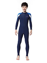 cheap -Bluedive Men's Dive Skin Suit SPF50, UV Sun Protection, Quick Dry Chinlon Full Body Swimwear Beach Wear Diving Suit Swimming / Diving / Surfing / Breathable / High Elasticity / Breathable