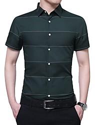 cheap -Men's Business Shirt - Striped