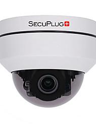 abordables -hd 1080p ptz extérieure caméra de dôme ip de sécurité poe avec zoom optique 3x panoramique / inclinaison / 3x zoom motorisé style dôme pour