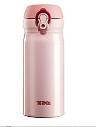 abordables -Drinkware Plastique / Acier inoxydable Vacuum Cup Portable / Retenant la chaleur 1pcs