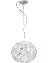 cheap -QIHengZhaoMing Globe Pendant Light Ambient Light 110-120V / 220-240V, Warm White, Bulb Included / 15-20㎡ / LED Integrated