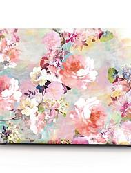 abordables -MacBook Etuis Fleur Plastique pour MacBook Pro 13 pouces / MacBook Pro 15 pouces / MacBook Air 13 pouces
