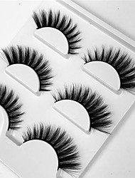 cheap -lash False Eyelashes Professional Level / Portable Makeup 1 pcs Eye Professional / Portable Daily / Date Daily Makeup Natural Curly Cosmetic Grooming Supplies