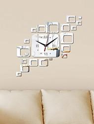 cheap -Modern / Contemporary Plastic & Metal Irregular Indoor,AAA Batteries Powered Wall Clock