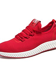 cheap -Unisex Shoes Suede Summer Comfort / Novelty Athletic Shoes Running Shoes White / Black / Red