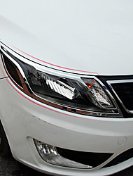 Недорогие -2pcs Автомобиль Автомобильные световые чехлы Деловые Тип пасты For Головной свет For Kia K2 Все года