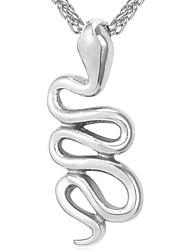 preiswerte -Anhängerketten - Schlange Modisch Gold, Silber 55 cm Modische Halsketten Für Alltag
