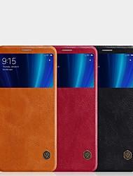 abordables -Funda Para Xiaomi Mi 6X Soporte de Coche / con Ventana / Flip Funda de Cuerpo Entero Un Color Dura Cuero de PU para Xiaomi Mi 6X(Mi A2)