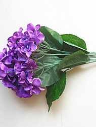 Недорогие -Искусственные Цветы 1 Филиал Простой стиль / Свадьба Гортензии Букеты на стол