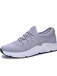 abordables -Homme Chaussures Tulle Eté Confort Chaussures d'Athlétisme Course à Pied Noir / Gris / Noir / blanc