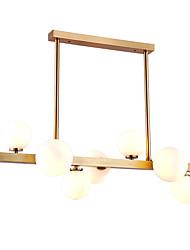 abordables -ZHISHU 7 lumières Plafonnier pour Ilôt de Cuisine Lustre Lumière d'ambiance - Style mini, 110-120V / 220-240V Ampoule incluse / G9
