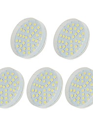 abordables -5pcs 5W 36 LED Lampes d'Armoire LED Blanc Chaud Blanc Froid Blanc Naturel 220-240V