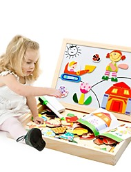 cheap -Wooden Puzzle Cartoon Creative Wooden 95pcs Child's / Preschool Gift