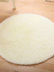 cheap -Area Rugs Casual Linen / Cotton / Polyster, Circular Superior Quality Rug