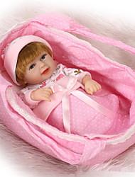Недорогие -NPKCOLLECTION Куклы реборн 12 дюймовый Силикон Детские Мальчики / Девочки Игрушки Подарок