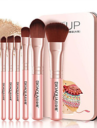 cheap -7 pcs Makeup Brushes Professional Makeup Brush Set Synthetic Hair Professional / Comfy Aluminium / Plastic