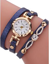 cheap -Women's Bracelet Watch 30 m Chronograph PU Band Analog Bangle Fashion Black - Blue Pink Bronze One Year Battery Life / Stainless Steel / SSUO LR626