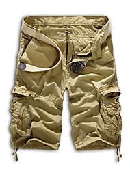 economico -Per uomo Attivo Chino Pantaloni - Camouflage