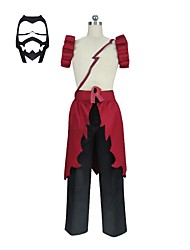 cheap -Inspired by My Hero Academy Battle For All / Boku no Hero Academia Cosplay Anime Cosplay Costumes Cosplay Suits Other Sleeveless Pants / Apron / Mask For Unisex Halloween Costumes