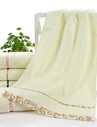 Недорогие -Свежий стиль Полотенца для мытья, Клетки Высшее качество Полиэстер / Хлопок Жаккардовое плетение 1pcs
