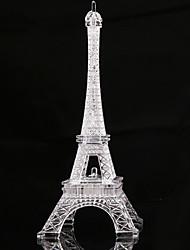 Недорогие -Ворота paris башня дом орнамент пластиковые ремесло фея сад бонсай террариум домашний декор