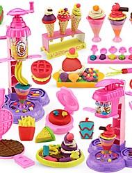 Недорогие -Игрушка кухонные наборы Ролевые игры Кухонная раковина Креатив Взаимодействие родителей и детей Пластиковый корпус Детские Игрушки Подарок