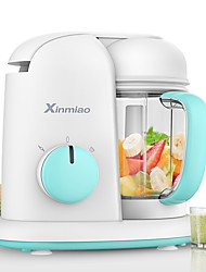 cheap -Xinmiao Baby Food Cooker Mixer Steamer Warmer Washable Unfreezer Anti-Burn 304Stainless Steel Tritan PP Material