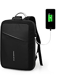 cheap -Men's Bags Canvas / Nylon Backpack Zipper Blue / Black / Gray