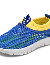 Недорогие -Мальчики Обувь Тюль Лето Мокасины Мокасины и Свитер для на открытом воздухе Белый Желтый Пурпурный Синий