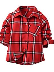 cheap -Kids Toddler Boys' Geometric Color Block Long Sleeve Shirt