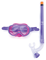cheap -Snorkeling Set / Diving Package - Diving Mask, Snorkel - Dry Top Swimming, Diving Neoprene  For  Kids