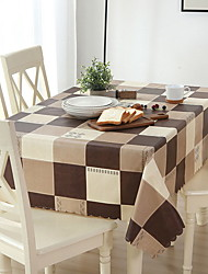 cheap -Contemporary Plastic / PVC(PolyVinyl Chloride) Square Table Cloth Geometric / Patterned Table Decorations 1 pcs