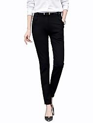 abordables -Mujer Negocios Traje Chinos Pantalones - Un Color