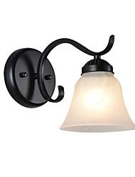 baratos -Proteção para os Olhos Simples Luminárias de parede Sala de Estar / Quarto / Sala de Jantar Metal Luz de parede 110-120V / 220-240V 60W