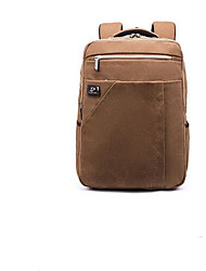 cheap -Unisex Bags Oxford Cloth School Bag Zipper Gray / Coffee / Khaki