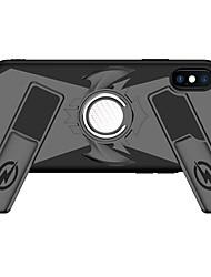 Недорогие -Кейс для Назначение Apple iPhone X / iPhone 8 Pluss / iPhone 8 Кольца-держатели / броня / Игровой случай Кейс на заднюю панель броня Твердый ПК