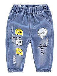 cheap -Toddler Girls' Print Jeans