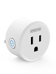 baratos -Smart Plug for Sala de estar / Estude / Quarto 100-240V Smart / Leve e conveniente / USB Universal Standard