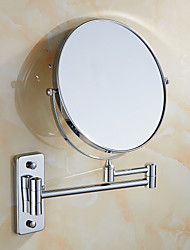 cheap -Bathroom Gadget Foldable Contemporary Glasses 1pc - Bathroom Cosmetic Mirror Wall Mounted